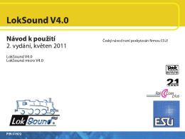 ESU Loksound 4