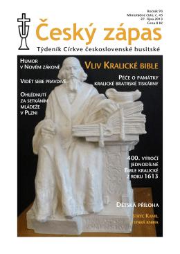 43/2013 - Církev československá husitská