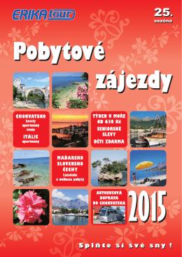 Pobytové zájezdy (v pdf)
