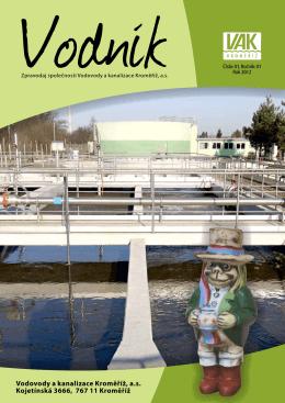 vodník 2012 č.1 - Vodovody a kanalizace Kroměříž, as