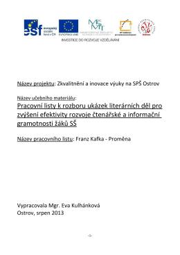 VY_12_INOVACE_CJ_PLB27, F. Kafka – Proměna.pdf