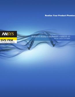 Praktické ukázky a zkušenosti s ANSYS 15