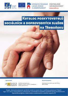 Katalog poskytovatelů sociálních a doprovodných služeb na