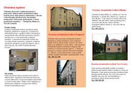 Chráněné bydlení - Sociální Služby Šumperk
