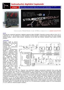 PDF návod - stavebnice moduly tipa