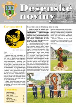Desenské noviny červenec-srpen