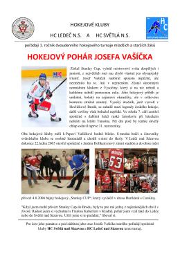 Propozice turnaje - HC Světlá nad Sázavou