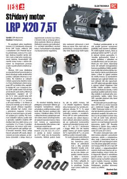 LRP X20 7,5T