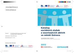 Katalog sociálních služeb a souvisejících aktivit ve městě Ostrava
