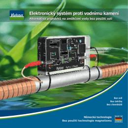 Elektronický systém proti vodnímu kameni