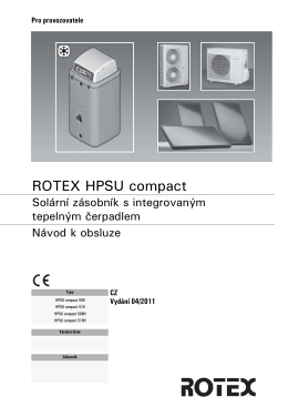ROTEX HPSU compact