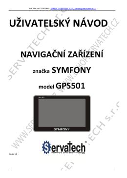 UZIVATELSKY NAVOD GPS 501 SYMFONY verze 1.2.pdf
