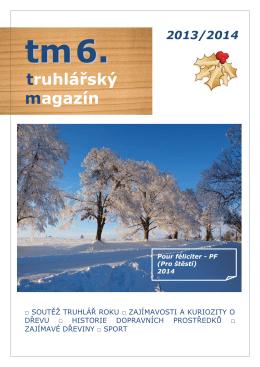 Truhlářský magazín č.6 - Střední průmyslová škola Tachov