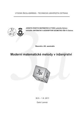 pdf, 143 pages - 3mi - Vysoká škola báňská
