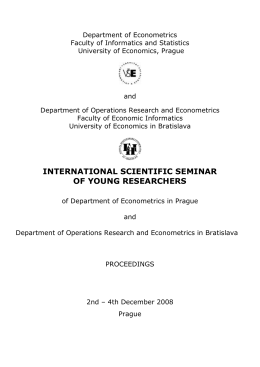 international scientific seminar of young researchers