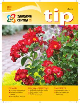 TIP Léto 2014 - Zahradní centra CS, obchodní družstvo