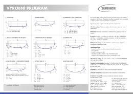 Datový doklad (česky) - Slawinski & Co. GmbH