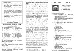 140628 Zpravodaj - Sbor církve adventistů Frýdek-Místek