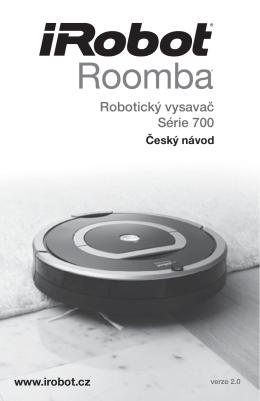 Robotický vysavač Série 700