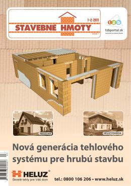 Stavebné hmoty č. 1-2/2011