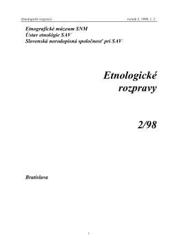 ER - Zuzana Beňušková