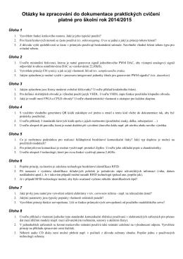 Otázky do dokumentace cvičení V4 2014/2015