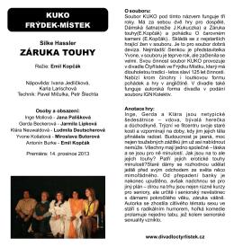 ZÁRUKA TOUHY - Ostravské buchary