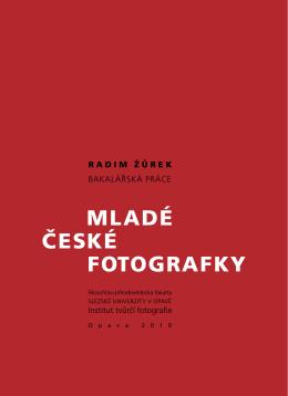 Radim Žůrek Mladé české fotogRafky