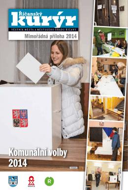 Komunální volby 2014
