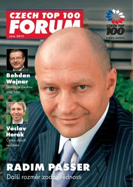 RADIM PASSER - Czech Top 100
