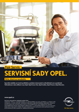 Stáhnout - Servis Opel