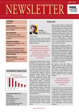 duben 2013 [PDF, 1703 kB] - Centrum pro ekonomiku a politiku