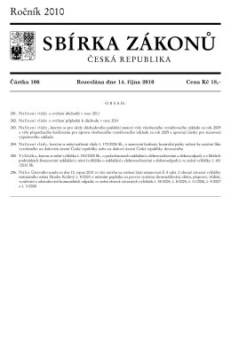 Částka 106, 281-286 - Ministerstvo vnitra