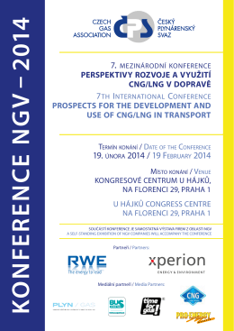 K O NFE R E NC E NG V – 2014