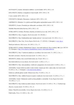 Napsali o nás 2012 - Regionální knihovna Karviná