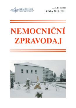 ZLOM nemoc zpravZIMA.qxd - Nemocnice České Budějovice