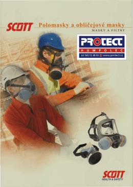 SCOTT 2011 polomasky a celoobličejové masky