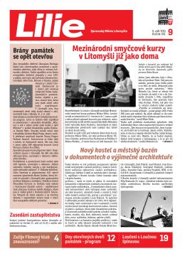 Mezinárodní smyčcové kurzy v Litomyšli již jako doma