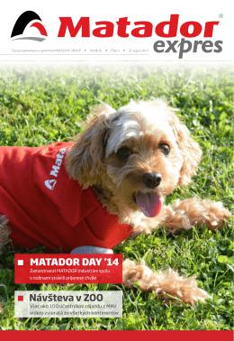 MATADOR DAY `14 Návšteva v ZOO