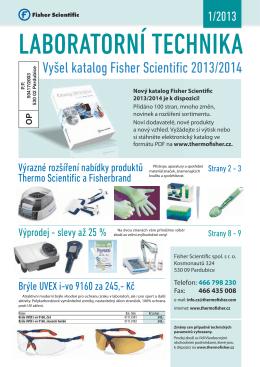 Laboratorní noviny 01/2013