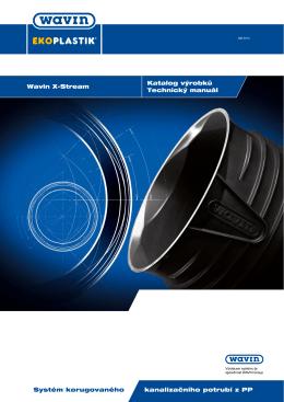 Katalog výrobků Technický manuál Wavin X
