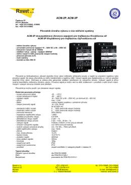 ACM-2P, ACM-3P