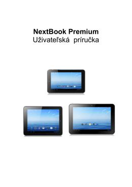 NextBook Premium Uživateľská príručka
