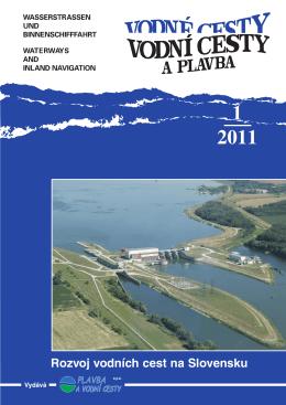 Vodní cesty a plavba 1/2011