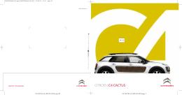 Katalog CITROËN C4 Cactus