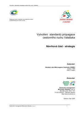 Strategická část - Mikroregion Vsetínsko