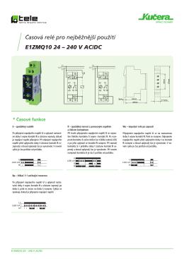 E1ZMQ10 - Spínací technika KUČERA