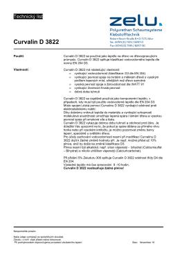 Curvalin D 3822