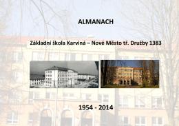 ALMANACH 1954 - 2014