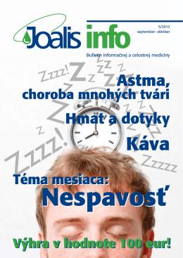 Astma, - Joalis